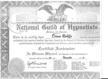 National Guild Certified Instructor